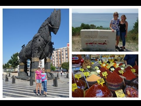 Istanbul, Gallipoli and Troy Vlog, 2015