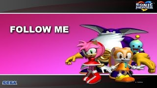 [SONIC KARAOKE] Sonic Heroes - Follow me (Kay Hanley) [WATCH IN HD]