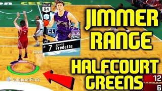 DIAMOND JIMMER FREDETTE! JIMMER RANGE GREENS! NBA 2K17 MYTEAM GAMEPLAY