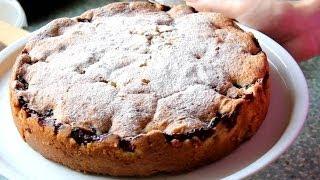 Вкуснющий пирог с вишнями