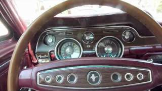 1968 Ford Mustang C-Code maroon.m4v