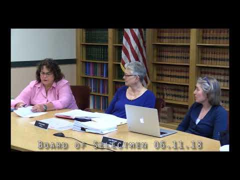 Board of Selectmen 06.11.18