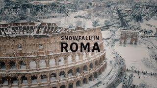What's rarer than a blue moon? snowfall in rome.partecipa al mio corso online dedicato alla post produzione su davinci resolve e scopri l'approccio creativ...