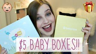 Target Baby Box vs Walmart Baby Box