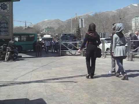 Tajrish Square in Tehran