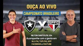 Botafogo 1 x 0 São Paulo - Campeonato Brasileiro - 37ª Rodada - 22/02/2021 - AO VIVO