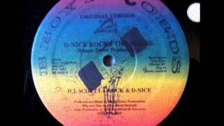 DJ Scott La Rock & D Nice - D Nice rocks the house (original version)