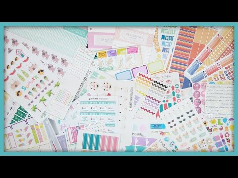 My 15 Favorite Etsy Shops // For Planner Stickers & Supplies!