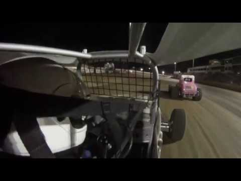 Vintage Racing at North Central Speedway 8/12/2017 Feature Race Ride Along in the #54 Super Mod Car