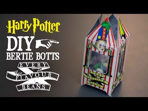 picture relating to Bertie Botts Every Flavor Beans Printable known as Bertie Botts Each individual Flavour Beans - Harry Potter Do-it-yourself - YouTube