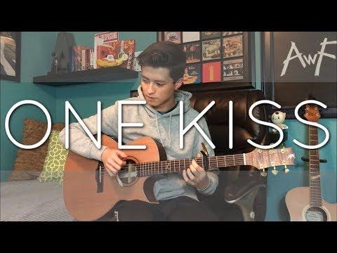 Calvin Harris Dua Lipa - One Kiss - Cover Fingerstyle guitar