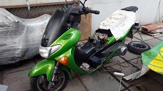 РЕМОНТ СКУТЕРА Suzuki Avenis 150