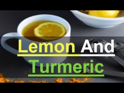 What turmeric-lemon water will do for you