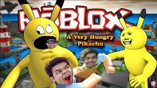 TIÊU DIỆT PIKA-MINH ĂN THỊT NGƯỜI - Roblox A Very Hungry Pikachu