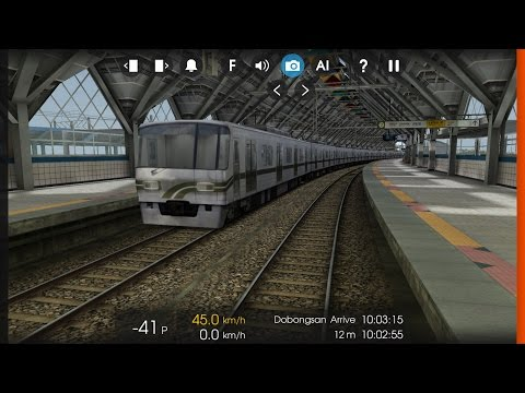 Hmmsim 2 - Seoul Metro Line 7 - From Cheongdam to Taereung with 1st Produced