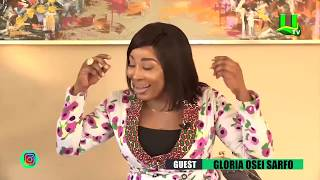 Gloria Sarfo on ATUU with Abeiku Santana