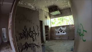 URBEX horror movie, in some big abandoned buildings.