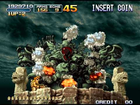 Metal Slug 3 Walkthrough/Gameplay Neo Geo