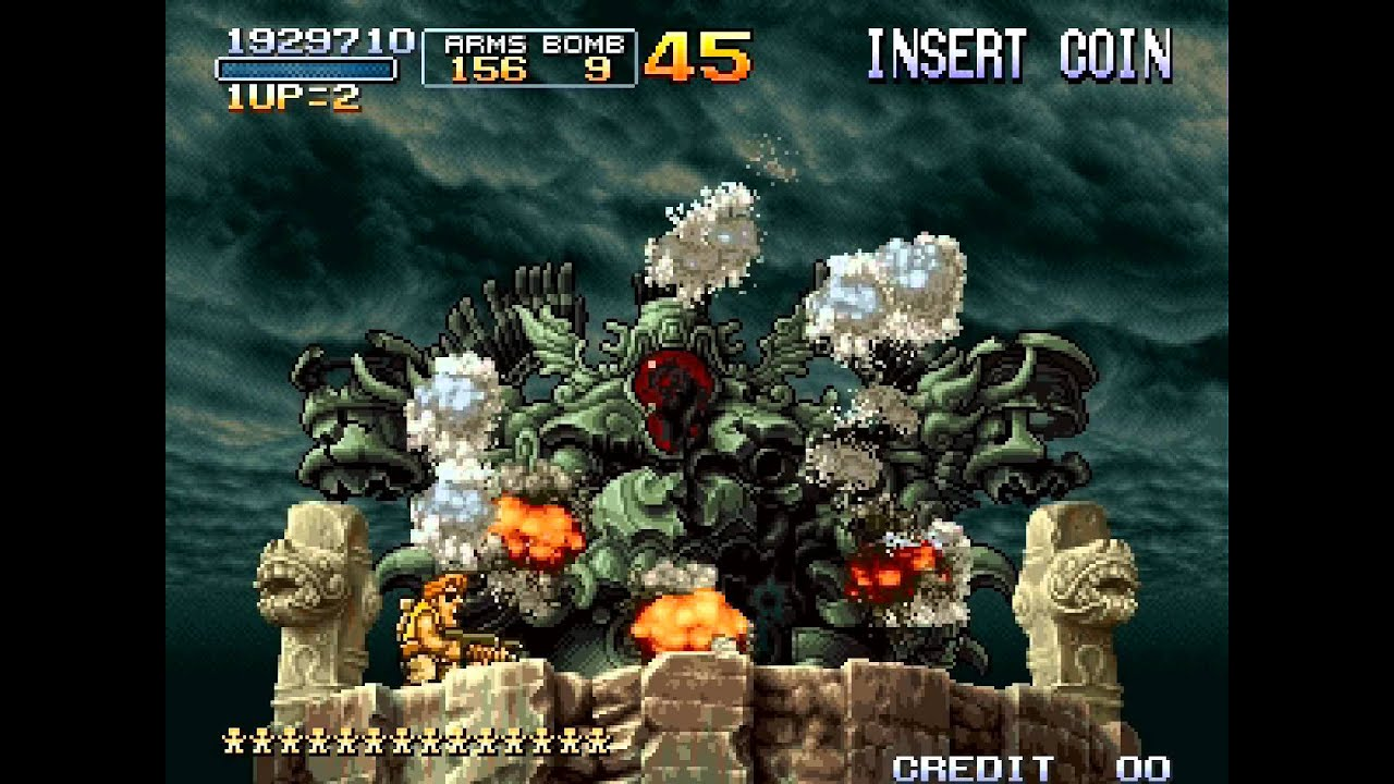 Metal Slug 3 Walkthrough/Gameplay Neo Geo