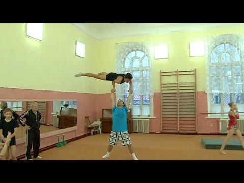 Видео, Наши акробаты - победители международного турнира в Виннице  Утренний эфир