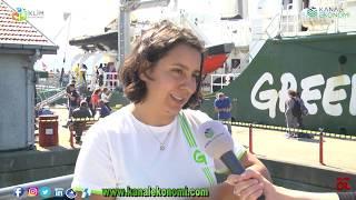 Greenpeace Rainbow Warrior İtanbul'da