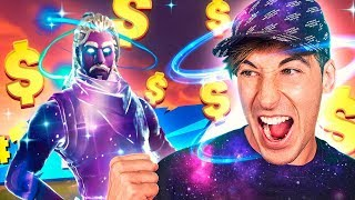 MY BEST PARTY WITH FORTNITE'S MOST EXCLUSIVE SKIN *Skin Galaxy*