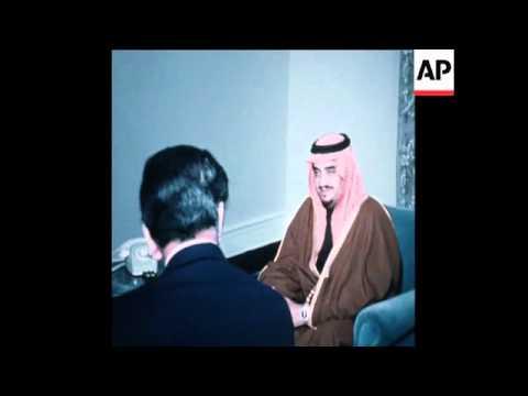 UPITN 20 2 77 US SECRETARY OF STATE CYRUS VANCE VISITS SAUDI ARABIA