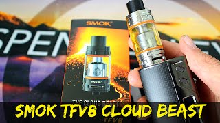 Smok TFV8 Cloud Beast Tank | TFV8 RBA | How Does It Compare To The TFV4?
