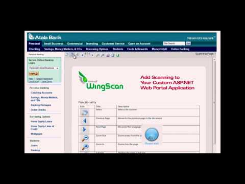 Atalasoft WingScan Sample Application Overview (cc)