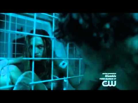 Bellamy in MT Weather: Bellamy in cage and hung up (02x11)