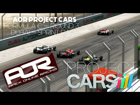 AOR Project Cars - Formula C Season 1 - Round 3 Dubai - Feature Race