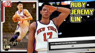 RUBY JEREMY LIN GAMEPLAY! THE BEST BUDGET POINT GUARD IN NBA 2k19 MyTEAM