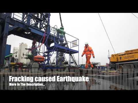 Fracking in Lancashire suspended following earthquake!