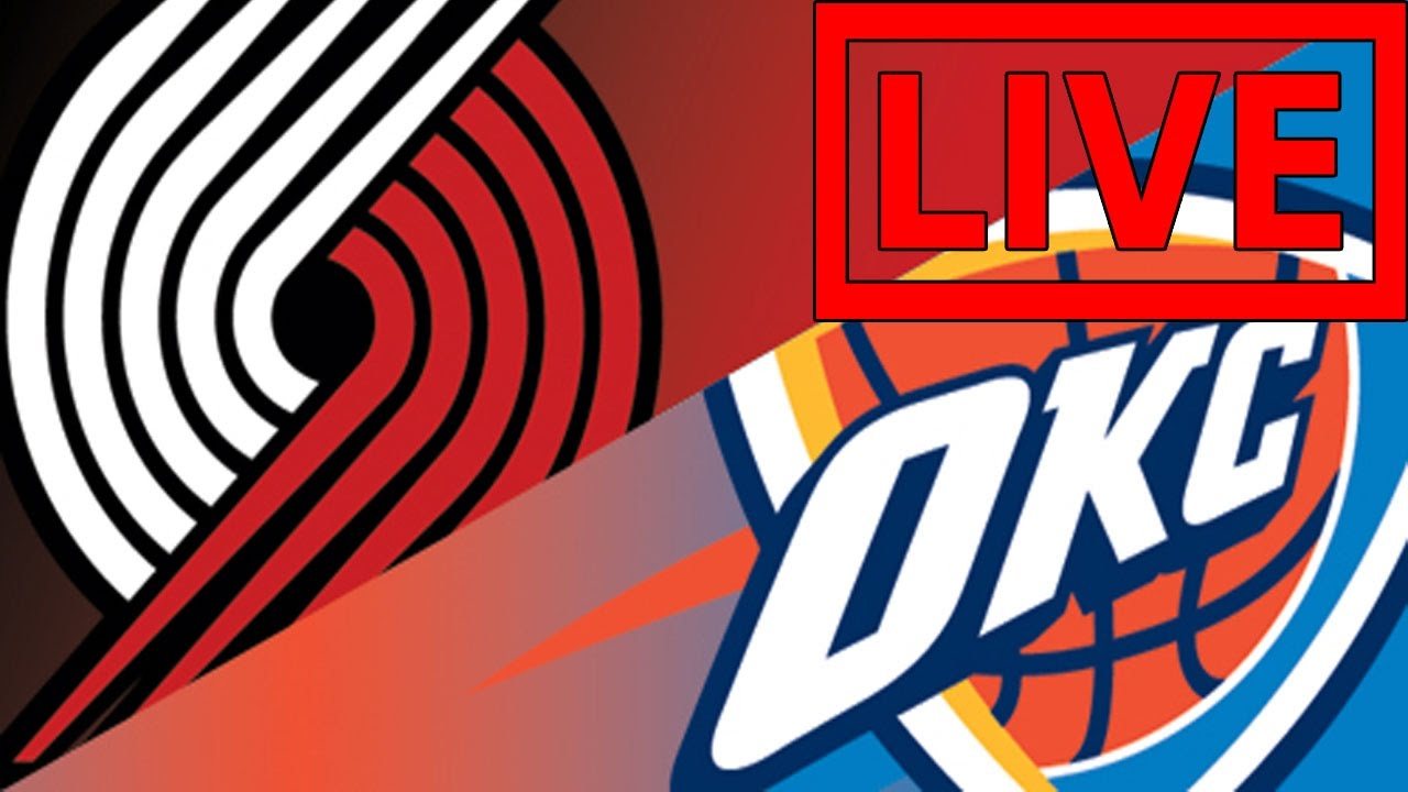 Image result for Oklahoma City Thunder vs Portland Trail Blazers Live Streaming