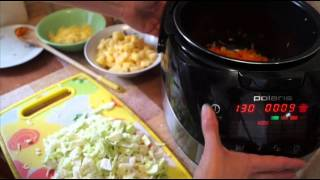 Домашние видео рецепты - щи из свежей капусты в мультиварке
