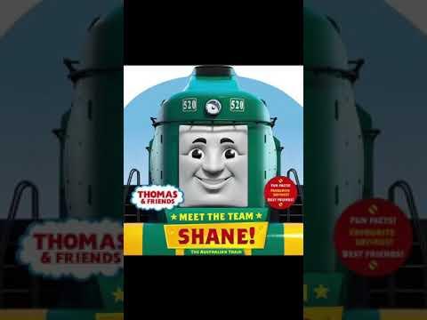 New Thomas And Friends book Meet the team: Shane
