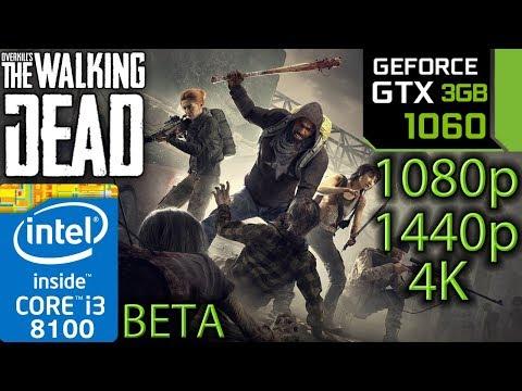 Overkill's The Walking Dead Beta - GTX 1060 3gb - i3 8100 - 1080p - 1440p - 4K - Benchmark PC thumbnail