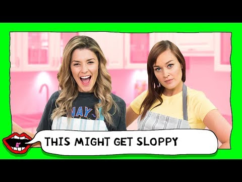 MYSTERY FOOD CHALLENGE with Grace Helbig & Mamrie Hart