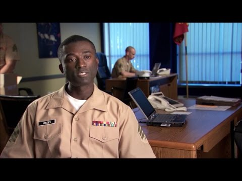 Marine Corps Recruiter Discusses Career Options