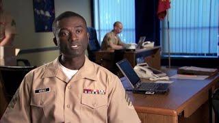 Marine Corps Recruiter Discusses Career Options