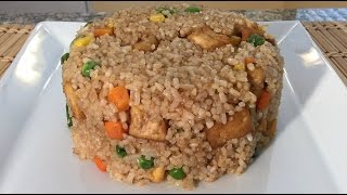 How To Make Vegetable Fried Rice Chinese Food Recipes Vegan Style