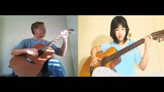 Ru Tình - Lullaby of Love - Song Tấu Guitar
