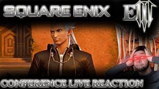 ANOTHER KINGDOM HEARTS 3 TRAILER PLS??! Square Enix E3 Conference Live Reaction