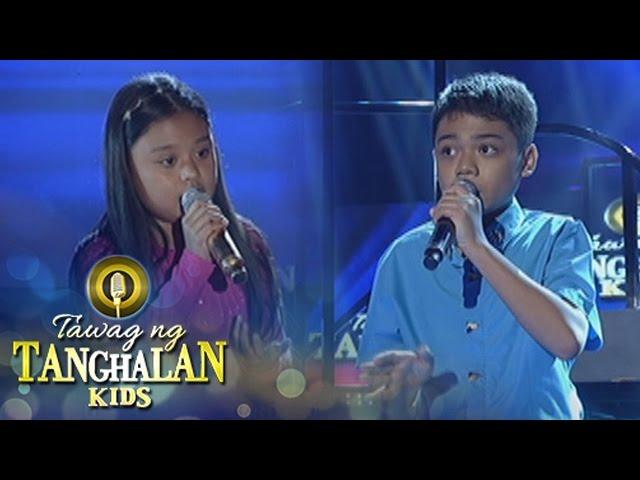 Tawag ng Tanghalan Kids: John Ramirez vs. Geness Nery