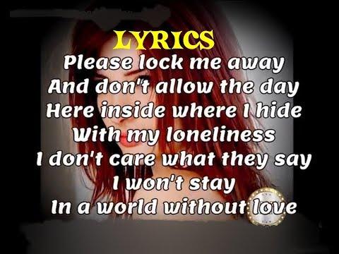 A World Without Love ~ Peter And Gordon ~ Lyrics