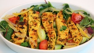 Grilled Chicken Moroccan Style Recipe - Cookingwithalia - Episode 351