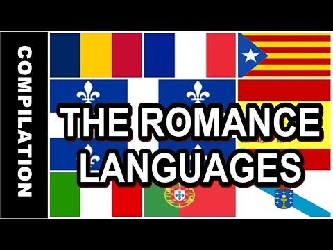 The Romance languages!   Compilation