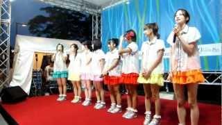 2012/7/27(金) 厚別区民祭り☆アイドルステージ♪フルーティー①/2 セト...