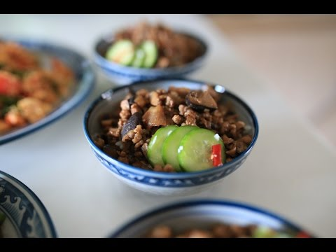 Cultlinary Episode 15 - Nancy's Taiwanese Braised Pork Over Rice 南嘻小廚 - 香菇肉燥飯