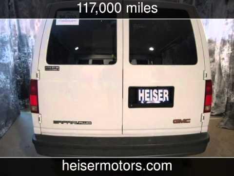 2003 gmc safari cargo van used cars dickinson north for Heiser motors dickinson nd